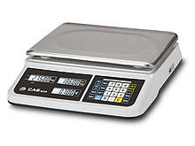 Весы торговые CAS PR II B