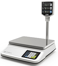 Весы торговые со стойкой CAS PR II P