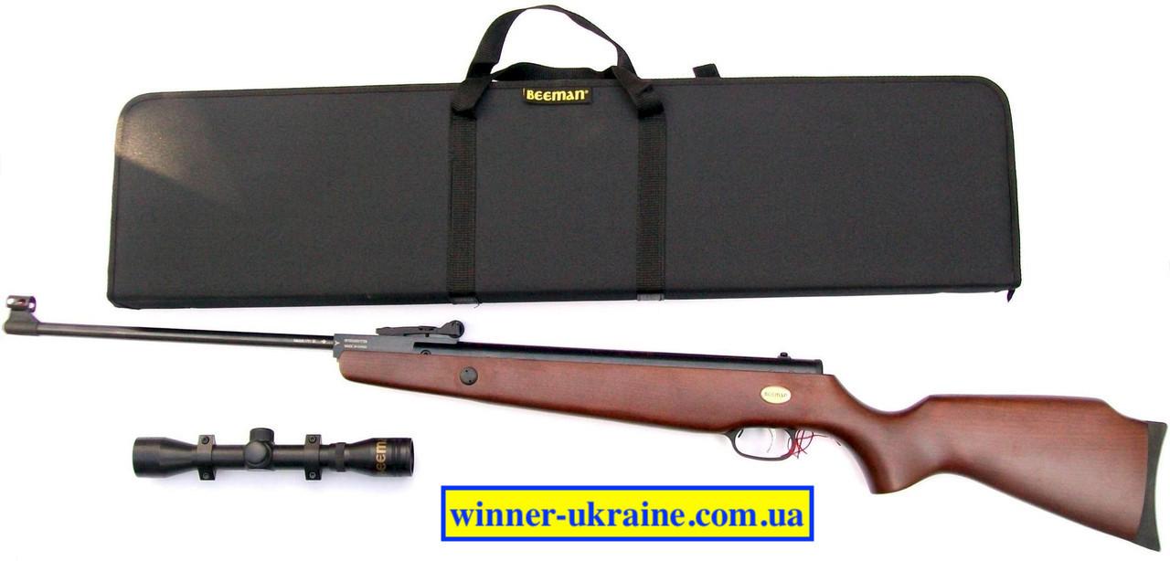 Пневматична гвинтівка Beeman Gizzly X2 з прицілом