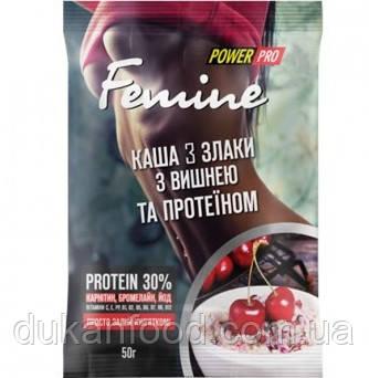 Каша 3 злака с вишней и протеином, Power Pro