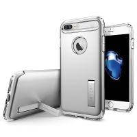 Чехол Spigen Slim Armor Satin Silver для iPhone 7 Plus/8 Plus