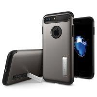 Чехол Spigen Slim Armor Gunmetal для iPhone 7 Plus/8 Plus