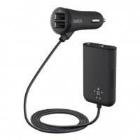 Автомобильное зарядное устройство Belkin Road Rockstar: 4-Port Passenger Car Charger