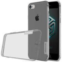 Серый TPU чехол Nillkin Nature для iPhone 7/8