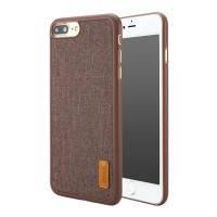 Тканевый чехол Baseus Grain Series Brown для iPhone 7 Plus/8 Plus