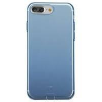 Защитный чехол Baseus Simple Series With Pluggy Transparent/Blue для iPhone 7 Plus/8 Plus