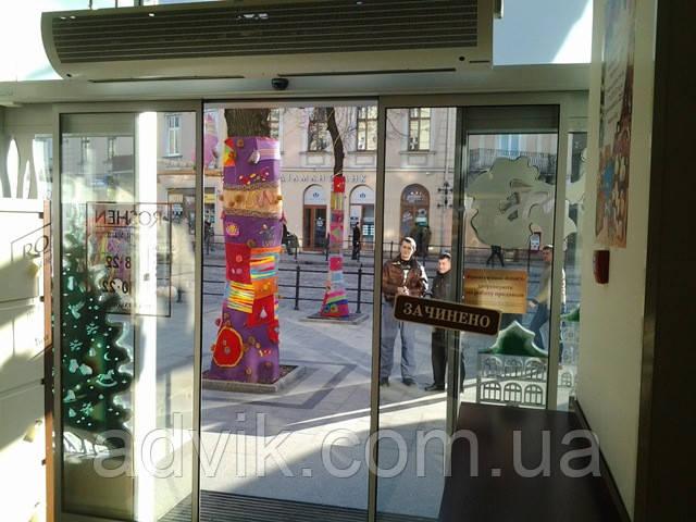 Автоматические раздвижные двери Portalp TINA 2 (Франция)*
