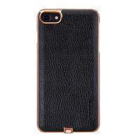 Кожаный чехол с беспроводной зарядкой Nillkin N-JARL Black для iPhone 7/8