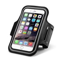 """Универсальный спортивный чехол oneLounge ArmBand Black для телефонов до 5"""" (iPhone 8/7/6s/6)"""