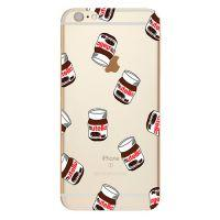 TPU чехол oneLounge Nutella для iPhone 6/6s
