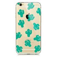 TPU чехол oneLounge Cactus для iPhone 5/5S/SE