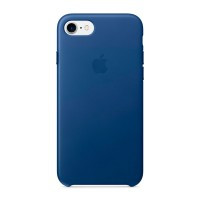 Кожаный чехол Apple Leather Case Sapphire (MPT92) для iPhone 7/8
