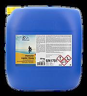 Chemochlor flusing рідкий хлор 35кг для дозованого автоматичного хлорування (13% хлору)