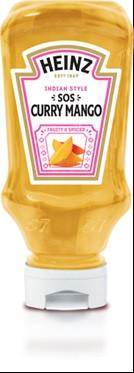 Соус Heinz Curry Mango , 245 гр