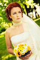 Парикмахерские услуги: Свадебная прическа с макияжем