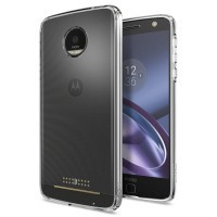 Чехол Spigen Ultra Hybrid Crystal Clear для Motorola Moto Z Droid