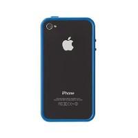 Чехол-бампер Griffin Reveal Frame Blue для iPhone 4/4s