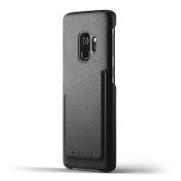 Кожаный чехол MUJJO Full Leather Wallet Case Black для Samsung Galaxy S9