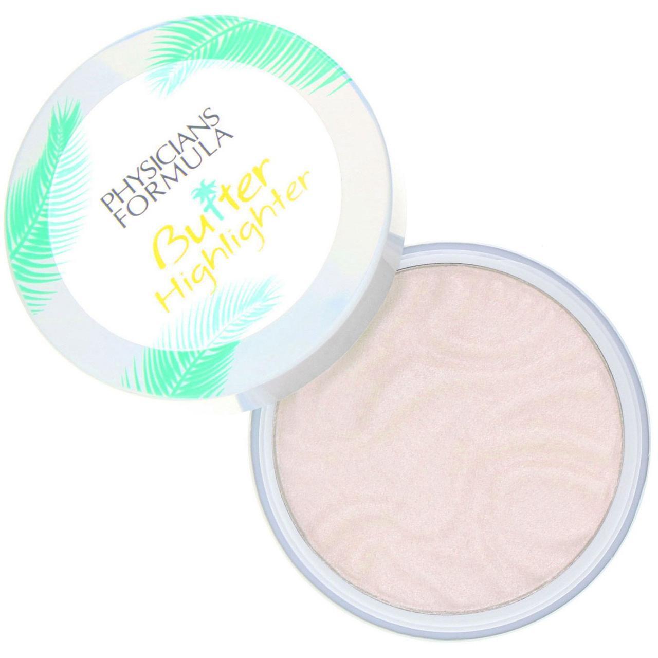 Physicians Formula, Butter Highlighter, Cream to Powder Highlighter, Iridescence, 0.17 oz (5 g)