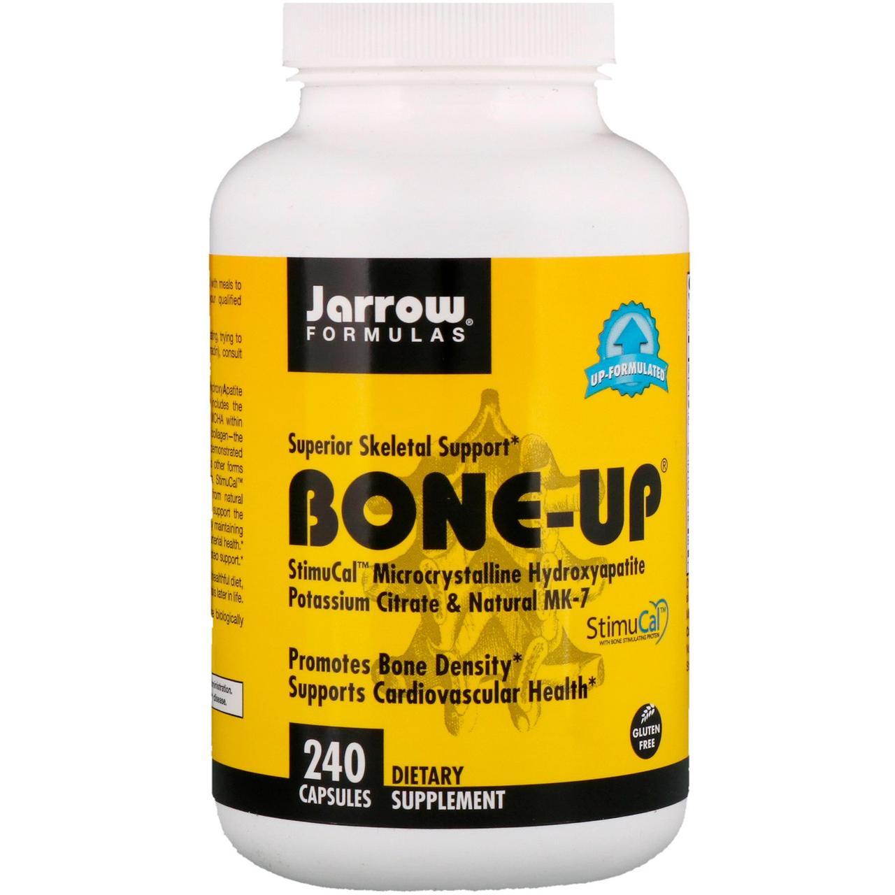 Jarrow Formulas, Bone-Up, усиленна формула кальция, 240 капсул