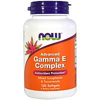 Комплекс витамина E Now Foods, улучшенный, 120 желатиновых капсул