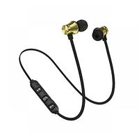 Беспроводные Bluetooth наушники Гарнитура с микрофоном Gold