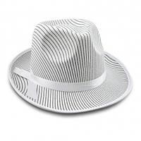Шляпа мужская Мафия (белая) Код:114695