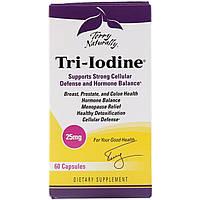 Капсулы Tri-Iodine от Terry Naturally и EuroPharma, 60 капсул, фото 1
