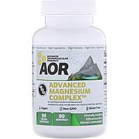 Advanced Orthomolecular Research AOR, Передовой комплекс магния, 90 вегетарианских капсул
