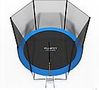 Батут FunFit 312см + сетка + лестница, фото 2
