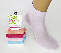 """Женские укороченные стрейчевые носки """"Montebello plus"""". Хлопок. , фото 1"""