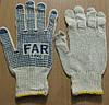 Перчатки трикотажные с нанесением ПВХ-точки (FAR, Капкан)
