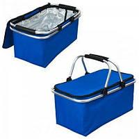 Термосумка (сумка-холодильник, термобокс) для еды и бутылочек с ручками 15л Stenson (R28860)