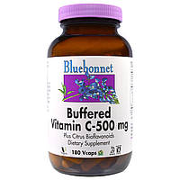 Буферизированный витамин С Bluebonnet Nutrition, 500 мг, 180 капсул