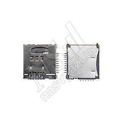 Коннектор SIM карты SAMSUNG C3010/S5230