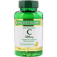 """Витамин C """"Time Release"""" от Nature's Bounty, 500 мг, 100 капсул"""