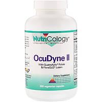 Мультивитаминная добавка для поддержки здоровья глаз Nutricology, OcuDyne II, 200 капсул