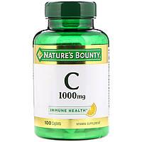 Витамин С Nature's Bounty, 1000 мг, 100 капсул