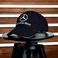 Бейсболка Mercedes-Benz - Original, черная с белым, материал - хлопок, логотип - вышивка, код EL-026