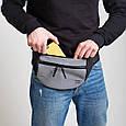 Поясная сумка TwinsStore Б202 серый, фото 3