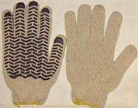 Перчатки трикотажные с нанесением ПВХ-волны (мастер, волна)