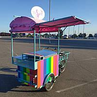 Велокафе для торговли мороженным и конфетами