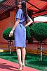 Платье для офиса Конкорд лен, фото 2