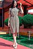 Платье для офиса Конкорд лен, фото 5