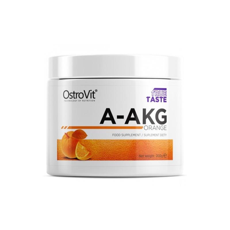 Аминокислоты (аргинин) OstroVit Pure A-AKG (200 g) апельсин