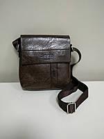 """Мужская сумка """"Jeep Classic Small Brown"""" , фото 1"""