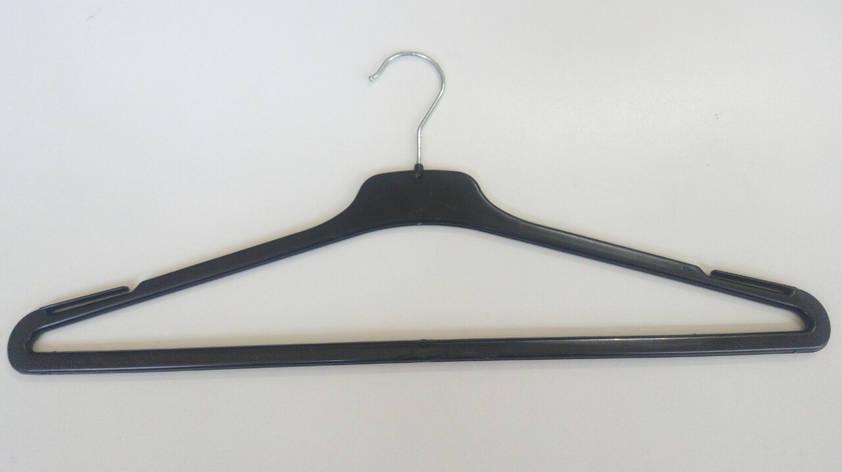 45см Вешалки, тремпеля, плечики с перекладиной металлический поворотный крючок, фото 2
