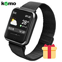 ✅ Смарт часы Smart Watch P68 Fitness Tracker Black (S54P68X5FRG)
