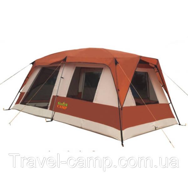 Палатка 6+3 местная GreenCamp 1610