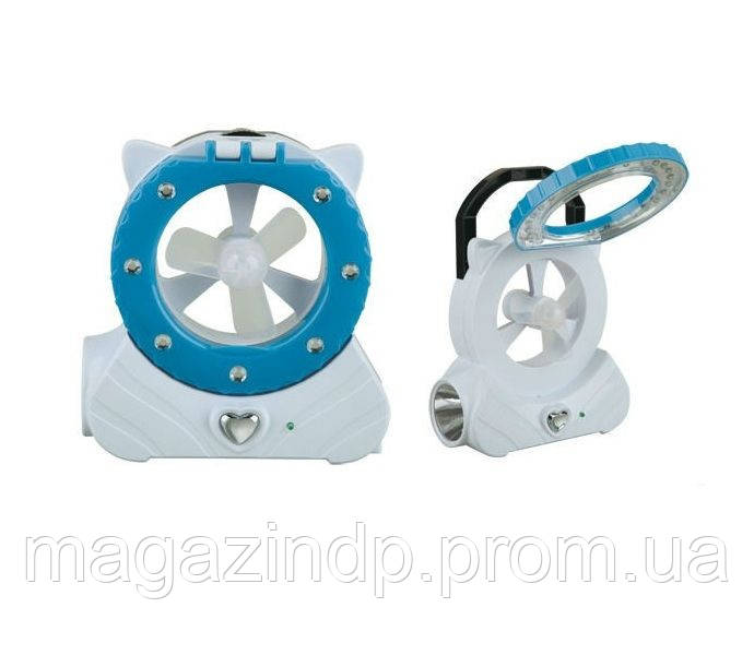Светодиодная лампа YJ-5822F со встроенным вентилятором Код:475253763